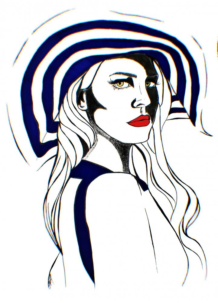 Lana Del Rey by AnaPisichiuta